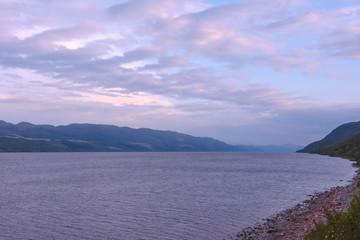 Paysage lac Ecosse