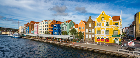 Views around the Caribbean island of Curacao