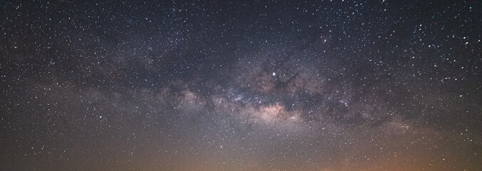 The Milky Way galaxy has stars on the background, the Milky Way's night sky is a galaxy with our solar system. Fototapete