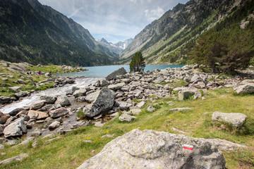Randonnée dans les Pyrénées : Cauterets Pont d'Espagne Lac de Gaube