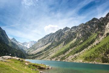 Lac de Gaube, Paysage des Pyrénées