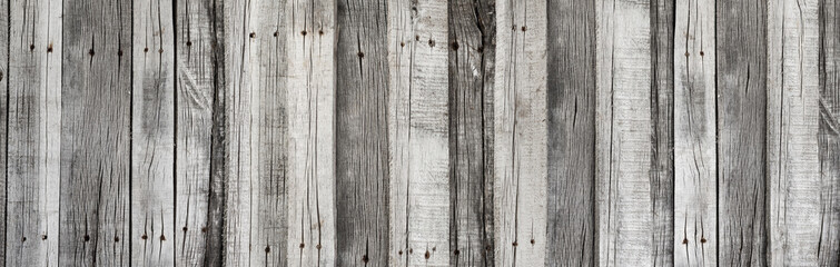 Wooden rustic grey planks texture vertical background Wall mural
