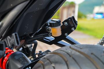 写真素材:バイク、オートバイ、タイヤ、アップ