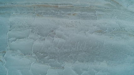 chemical changes and patterns in salt lake