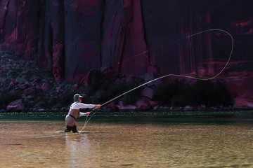 Fly Fishing on Colorado River