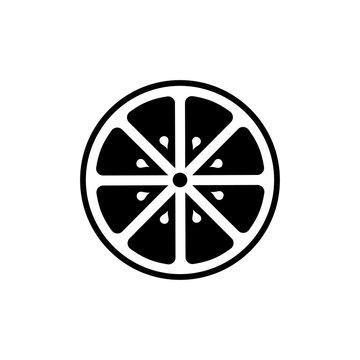 Orange icon vector symbol illustration