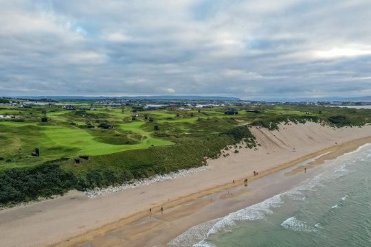 Portrush and the Whiterocks beach