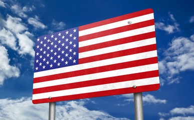 United States of America - traffic sign