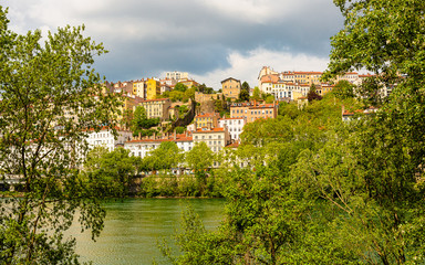 On the banks of the Rhône