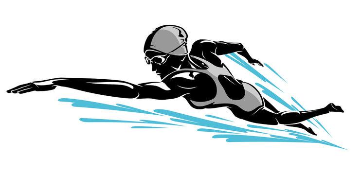 Female Swim Front Crawl