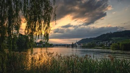 Insel Werd mit Blick nach Stein am Rhein