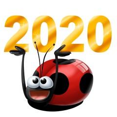 Fototapete - coccinella 2020