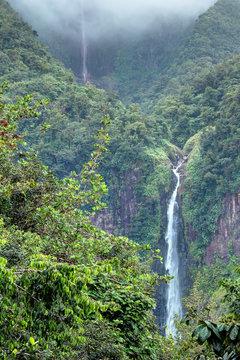 Les chutes du Carbet en Guadeloupe Antilles Française