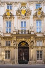 Fototapete - facade of old town hall in Vienna, Austria.