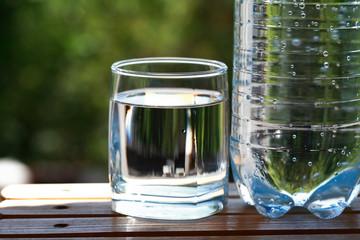 Mineral Water In Garden
