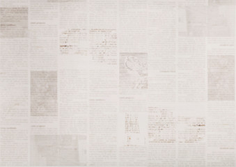 Vintage old grunge newspaper paper texture background Fototapete