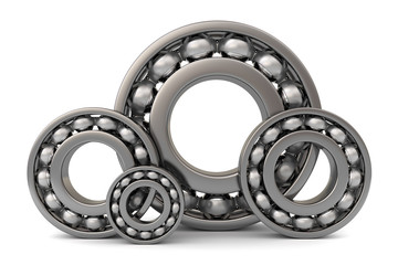 Four ball bearings.