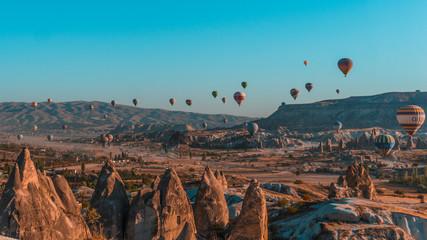 Poster Montgolfière / Dirigeable Cappadocia balloons