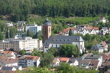 Fotomurales - Rodalben mit Kirche