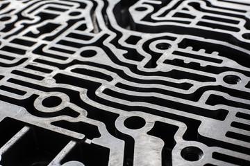 Technology abstract. Automatic transmission hydraulic control labirinth.