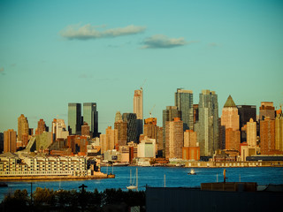 New York Skyline (Jersey View)