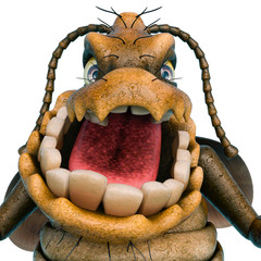 cockroach cartoon id picture