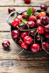 Foto auf AluDibond Kirschblüte Sweet fresh cherry