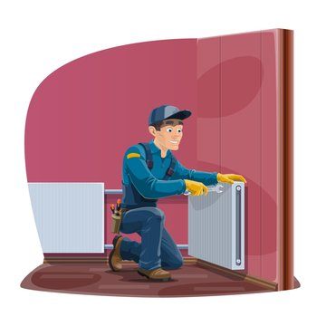Home radiator and heating convector repair service