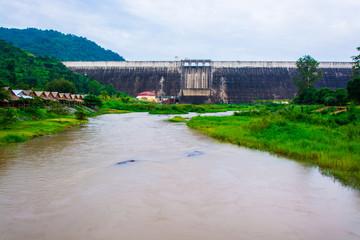 View of Khun dan Prakan Chol Dam