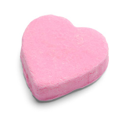 Pink Valentines Candy Heart