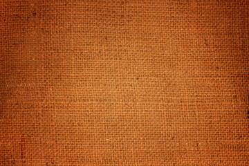 Brown sack texture background.
