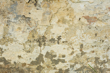 Wall Murals Old dirty textured wall Texture of a concrete wall with cracks and scratches which can be used as a background