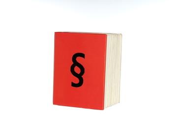 Paragraf mit Buch