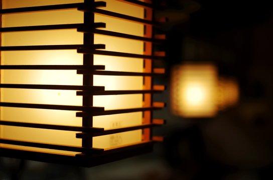木組みの和風照明