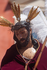 Fototapete - Hermandad de San Esteban, semana santa de Sevilla
