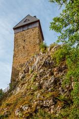 Burg Frauenstein in Wiesbaden-Frauenstein. 09.07.2019.