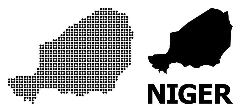 Pixel Pattern Map of Niger