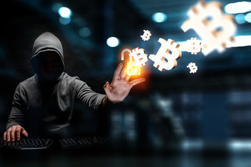 Hacker hunting for crypto currency