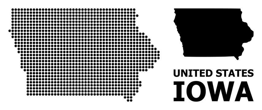 Pixel Pattern Map of Iowa State