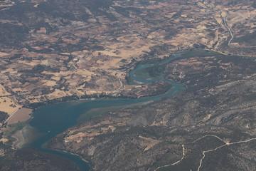 Papiers peints Bleu vert Espagne - Vue aérienne