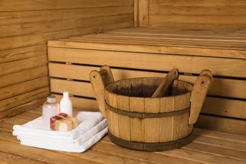 Aluminium Prints Spa Bathing Equipment in Sauna
