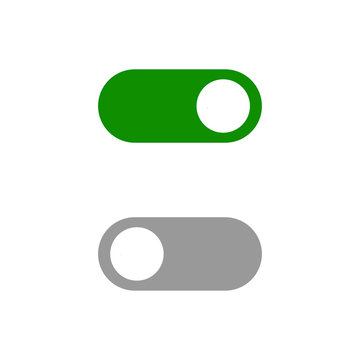 Power Button switch icon vector symbol illustration