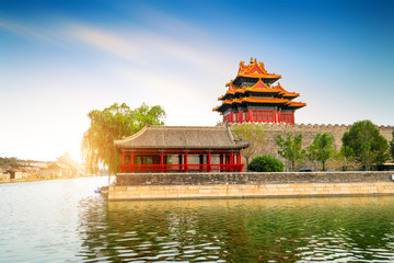 Wall Mural - The Forbidden City in Beijing, China