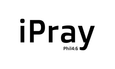 Biblical Phrase, Christian typography for banner, poster, photo overlay, apparel design