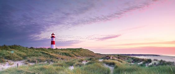 Leuchtturm am Meer Wall mural