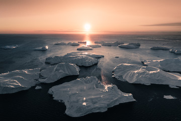 Arctic sunset.