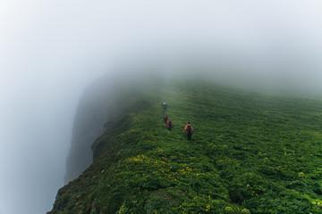 Moody hike.