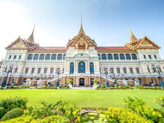 Chakri Maha Prasat at the Grand Palace in Bangkok, Thailand.