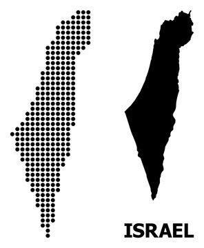Pixel Pattern Map of Israel