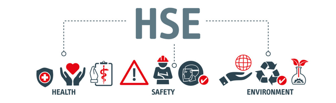 HSE - Health Safety Environment Banner